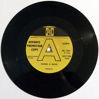 """Turnstyle - Riding A Wave / Trot 7"""" psych / freak repro"""