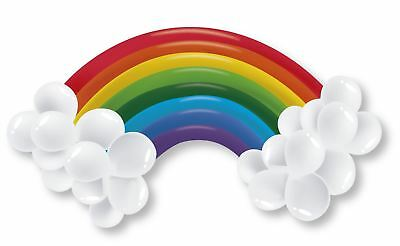 "60"" Rainbow Balloon Arch DIY Kit Set Kid Party Decoration Inflatable Pride Toy"
