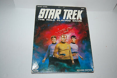 Star Trek The Role Playing Game Second Edition Fasa