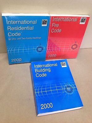 ICC International Residential Code, Fire Code, and Building Code 2000