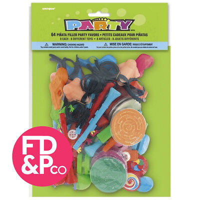 36 Piece Party (Loot) Bag Gift Toys Pinata Fillers Childrens Kids Birthday