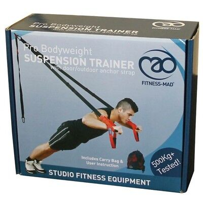 Fitness-Mad Pro Suspension Trainer Brand New