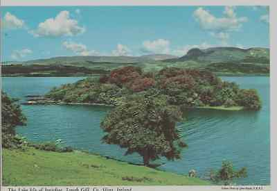 Old Postcard: The Lake Isle of Innisfree Lough Gill , Co. Sligo, Ireland.