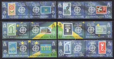 SOLOMON MNH 2005 SG1125-36 50th Anniversary (2006) of the First EUROPA Stamps