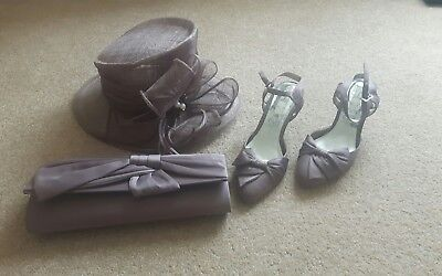 Womens Hat Bag and Shoes from BHS (Wedding/Races)