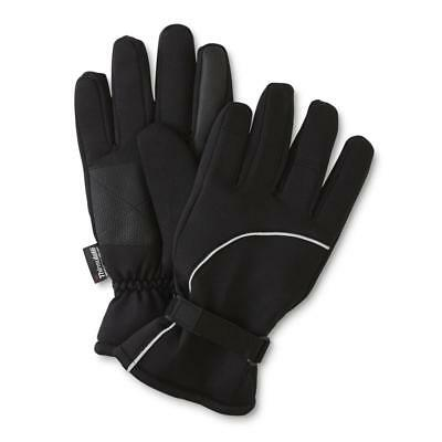 Insulates Breathes Thinsulate Men's Commuter Gloves Size L/XL Black New