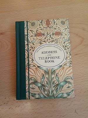 The William Morris Collection - Address And Telephone Book, Studio Designs NEW