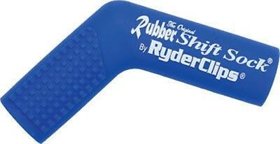 Ryder Clips Blue Rubber Motorcycle Street Bike Shift Sock 26-7200BU