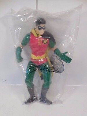 "Dc Comics Robin 13"" Warner Bro Studio Store Exclusive Pvc Figure Sealed 1998"