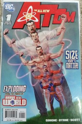 The All New Atom #1 (Sep 2006, DC)