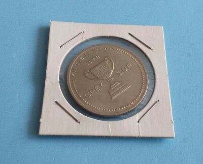 Vintage CFL Grey Cup 1972 60th Year Canadian Football Hall of Fame Coin