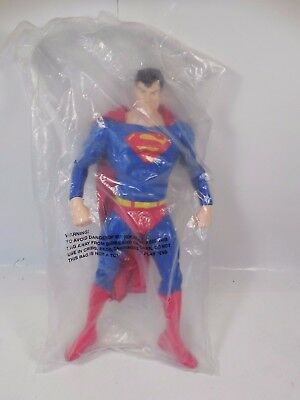 "Dc Comics Superman 13"" Warner Bro Studio Store Exclusive Pvc Figure Sealed 1998"