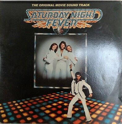 Saturday Night Fever Soundtrack Lp 1977 Rso Rs-2-4001 Inners