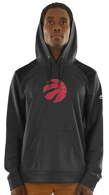 "Toronto Raptors Majestic NBA ""Armor 3"" Men's Pullover Hooded Sweatshirt"