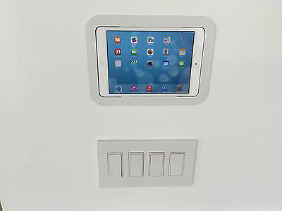 Four (4) In Wall Mount for iPad Mini 1, 2, and 3