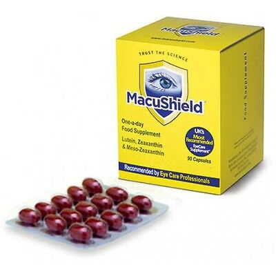 Macushield Eye Supplement 90 Capsules - Brand New & Sealed