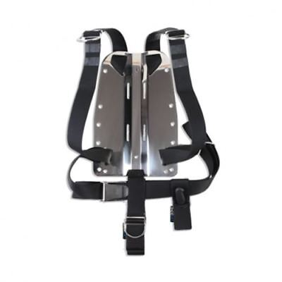 DIRZone 6mm Stainless Steel Backplate & One Piece Harness