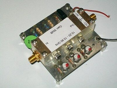 10 ghz X band amateurfunk receiver amplifier 35 db empfaenger verstaerker