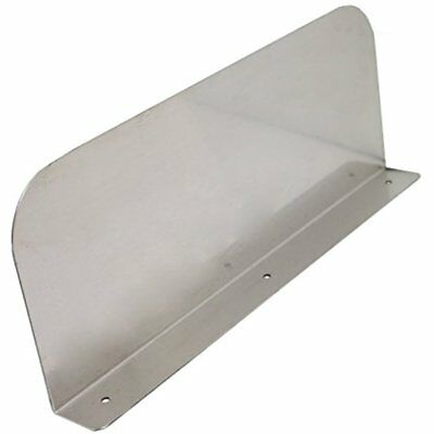 "Stainless Steel Splash Guard - 15"" X 6"" Wall Mount For Commercial Hand Organizer"