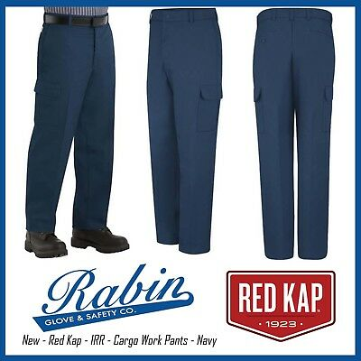 Cargo Work Pants - Red Kap - Navy - New - IRR ALL SIZES