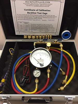 TK-13G Backflow Test Kit-New with 1 yr warr & Alum Case