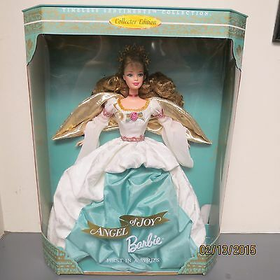 Angel of Joy 1998 Barbie Doll - First in Series - New Collector Edition - Blonde