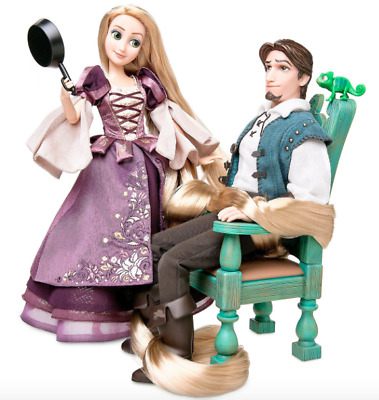 Disney Store Designer Rapunzel & Flynn Limited Edition Doll Set 2017