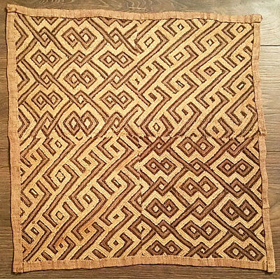 Fine Antique Kuba Cloth from Renowned, Published, Exhibited, and Best Collection