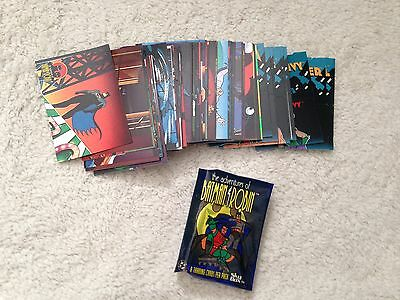 1995 Skybox The Adventures of Batman and Robin Master Set DC Comics