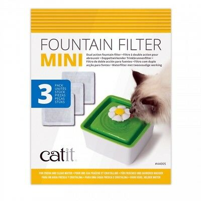 Catit 2.0 - Senses Cartridge Filters for Mini Flower Water Fountain (3 Pack)