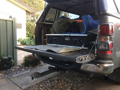 4x4 Tailgate step for your ute or wagon