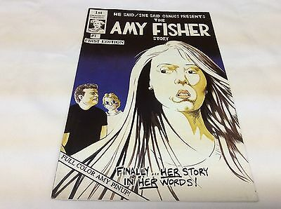 Amy Fisher/joey Buttafouco Flip Book #1 (Amendment/2015-S14) Comic Book Lot Of 1