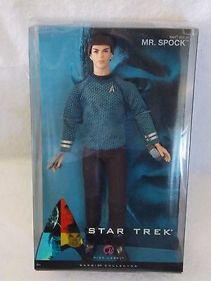 Mr Spock Ken Doll - Star Trek - NRFB