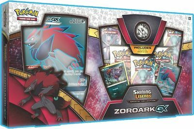 Pokemon Tcg: Shining Legends Zoroark-Gx Collection Box (5 Boosters + More)