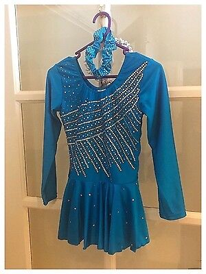 NEW ICE SKATING DRESS/COSTUME Girls SIZE 10-12
