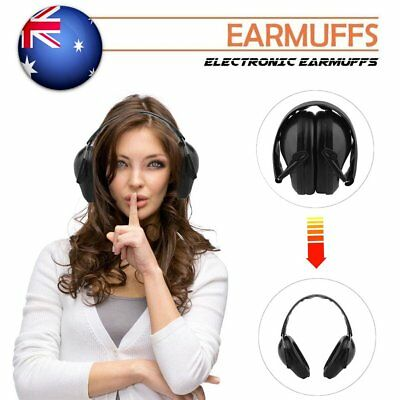 Foldable Shooting Hunting Earmuffs Ear Muffs Hearing Protection Noise Canceling