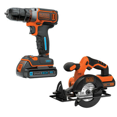 BLACK & DECKER SMARTECH 2-Tool 20-Volt Max Lithium Ion Cordless Combo Kit