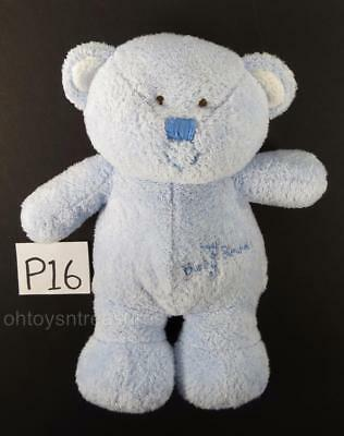 Ty Plush MY BABY BEAR (Blue) Teddy Sewn Eyes Tylux 2005 Lovey Toy pluffies P16