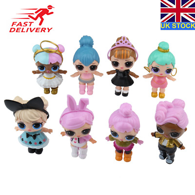 8 LOL Lil Outrageous 7 Layer Surprise Ball Series Dolls Blind Mystery Ball Toy