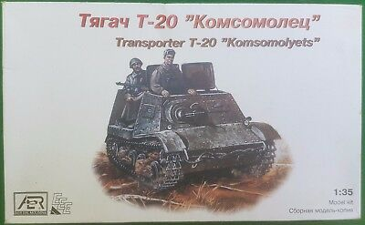 """AER 1/35th Scale Russian Transporter T-20 """"Komsomolyets"""" - Used"""