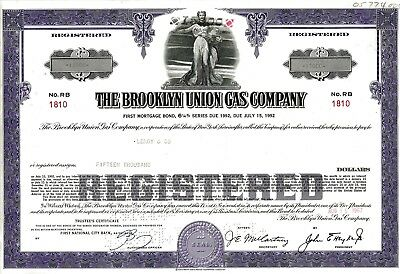 The Brooklyn Union Gas Company, 6 1/4% First Mortgage Bond due 1992 (15.000 $)