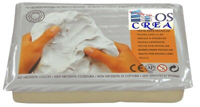 OSCrea Soft-Ton, weiss, 1500gramm, be creative with OSCrea