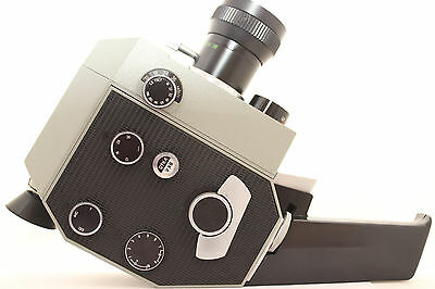 Quartz 2x8S - 3 (DS8M-3) USSR Mechanical Movie Camera Meteor 8M ZOOM Zenit