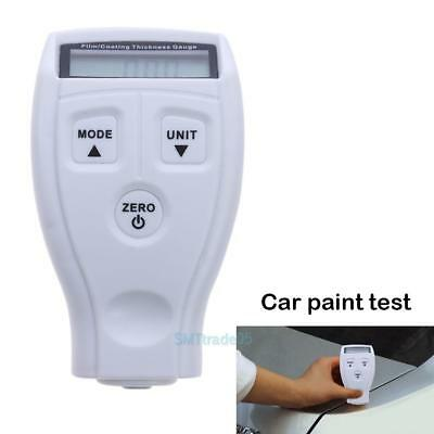 Digital Galvanize Car Painting Coat Film Measure Tester Thickness Gauge White