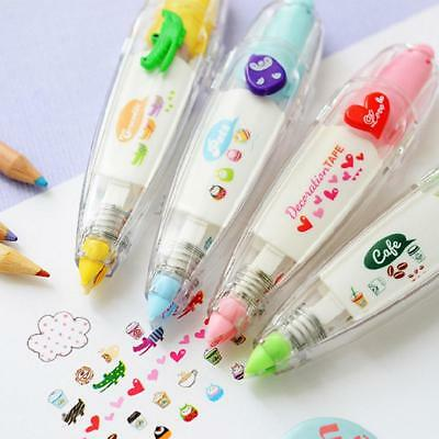 Push Lace Correction Tape Creative Stationery for Tag Sign Kids Gift K1B