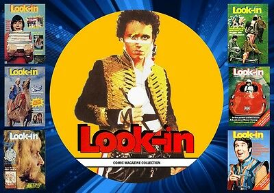 Look-In Comic Magazine Collection On DVD Rom