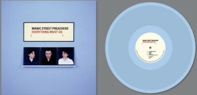 Manic Street Preachers Everything Must Go Limited Edition Blue Vinyl LP Sold Out
