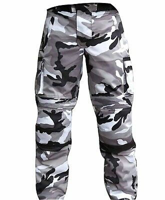 Cordura Textile Motorbike Camo Pants For Bikers Breathable Waterproof Pant Grey
