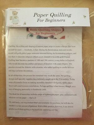 Paper Quilling Beginners Kit