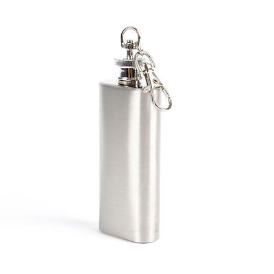 Outdoor MIni 2oz Wine Bottle Stainless Steel Liquor Hip Flask Screw Cap Peachy
